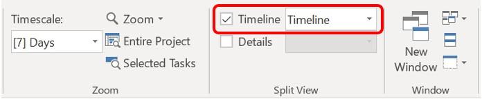 Timeline Checkbox
